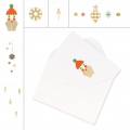 Set di carte e buste formato A6 Paper Poetry Puristic Christmas x 6