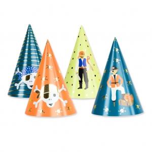 Cappellini da festa per bambini 20 cm Pirate - Perles   Co 0b329338a756