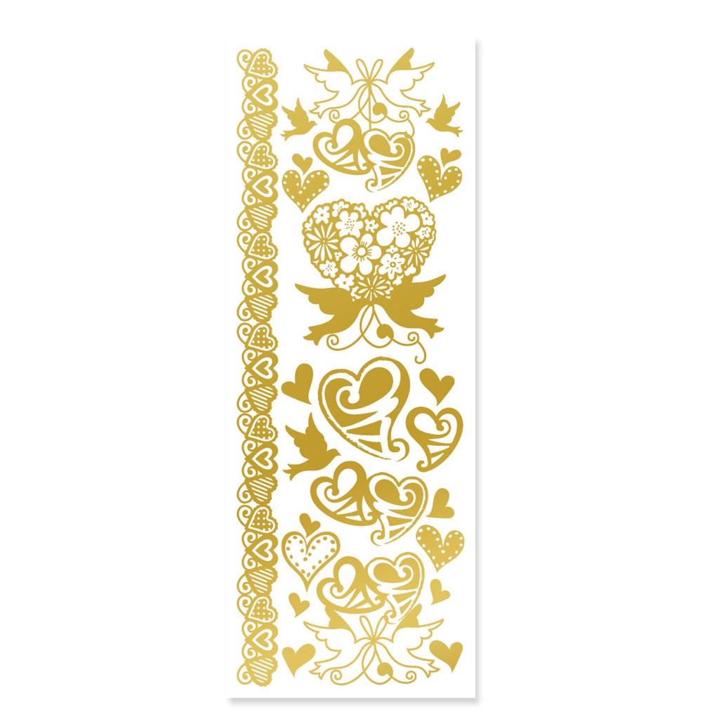Foglio di adesivi decorativi 3d effetto metallico for Foglio metallico