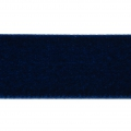 Nastro di velluto 22 mm Dark Navy Blue x1m