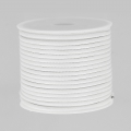 Cordone poliestere tipo snake cord 2 mm Bianco x10 m