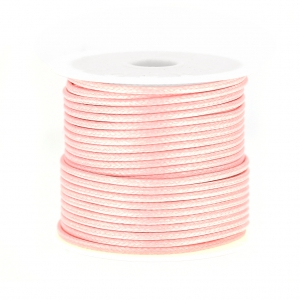 Cordone poliestere tipo snake cord 1.5 mm Light Rose x10 m