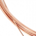 Filo morbido mm. 0.64 di Rose Gold filled 14K x 1 m