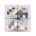 Rotolo di carta da regalo House Doctor double-face Colours  1 x5m