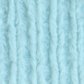 Tessuto Minky - Chenille Soft Cuddle Solid Light Aqua x10cm