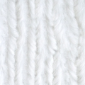 Tessuto Minky - Chenille Soft Cuddle Solid Bianco x10cm