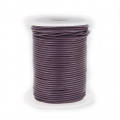 Cordone cuoio mm. 1,5 Cinnamon Purple xx m. 25