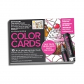 Assortimento di 16 biglietti da colorare Chameleon Color Cards Sweet Treats