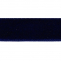 Nastro di velluto 16 mm Dark Navy Blue x1m