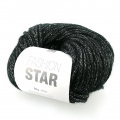 Lana Fashion Star Noir/argentato x50g