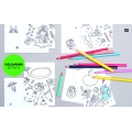 Assortimento di 12 pennarelli Colouring activity 1-4 mm Multicolore