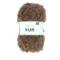 Lana Fashion Fur Marrone x50g