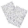 Set Paper Poetry bloc notes 145x210 mm Colouring activity Insetto x2