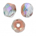 Sfaccettate mm. 4 Crystal Copper Rainbow x50