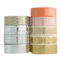 Nastro adesivo - Paper Poetry Tape mm.15 gallone Light Coral Doré x10m