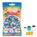 Perle da stirare  Hama MIDI 5 mm Multi Colore (n°69) x1000