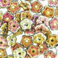 Distanziatori a fiori Forget-me-not 5 mm Crystal Full Marea x50
