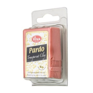 Argilla polimerica Pardo Viva Decor Translucent Clay 56g n°306 Orange