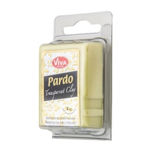 Argilla polimerica Pardo Viva Decor Translucent Clay 56g n°206 Yellow