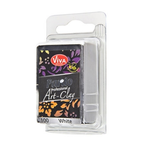 Argilla polimerica Pardo Viva Decor Professional Art Clay 56g n°100 White