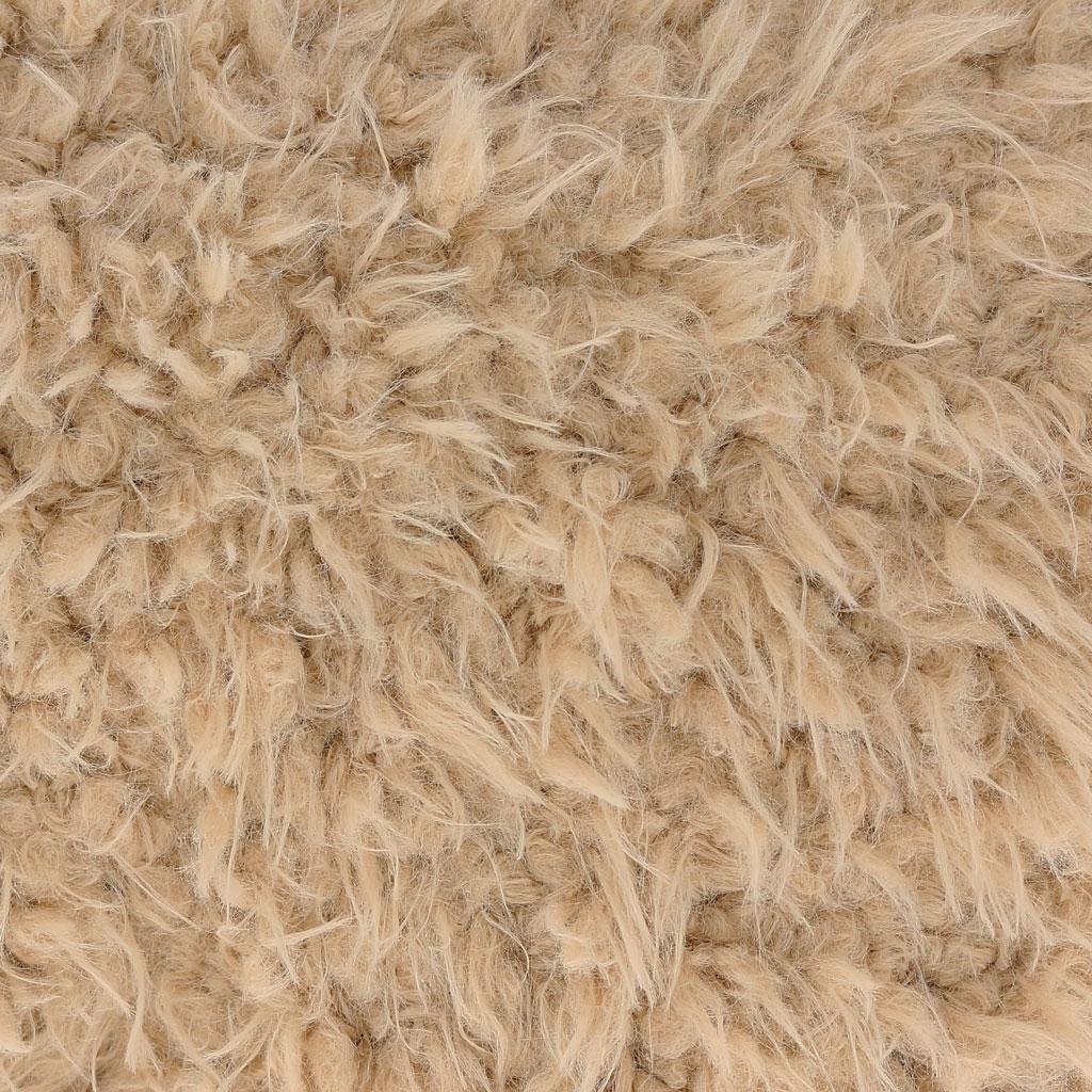 on sale 9e368 6b449 Tessuto Minky pelliccia sintetica - Llama Cuddle Solid Sand x10cm