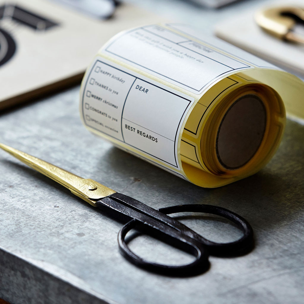 Ciseaux d co design house doctor 16 cm manche cuir noir house do perles co - Un ciseau ou des ciseaux ...