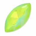 Navetta Swarovski 4227 mm. 32x17 Crystal AB Ultra Lime