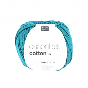 Lana Essentials Cotton Dk Dark Teal x50g