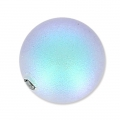 Perlina Swarovski mezza forata 5818 mm. 10 Iridescent Light Blue Pearl