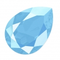 Cabochon Swarovski 4320 pera mm. 14x10 Crystal Summer Blue x1