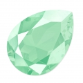 Cabochon Swarovski 4320 pera mm. 14x10 Crystal Mint Green x1