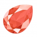Cabochon Swarovski 4320 pera mm. 14x10 Crystal Light Coral x1
