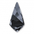 Cabochon Swarovski 4731 Kite 18x9mm Crystal Silver Night