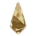 Cabochon Swarovski 4731 Kite 18x9mm Crystal Golden Shadow