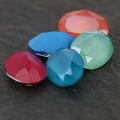 Cabochon Swarovski 4120 ovale mm. 14x10 Crystal Mint Green x1