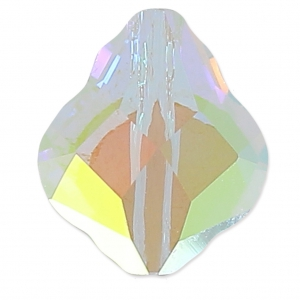 Baroque bead Swarovski 5058 10 mm Crystal AB x1