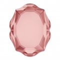 Cabochon Swarovski 4142 Baroque Mirror 14x11 mm Blush Rose