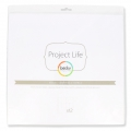 Set di 12 fogli plastificati 30.5x30.5 cm per l' Album Project Life Design A