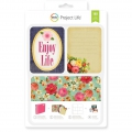 Set di 180 cartoncini 15x10 e 7.5x10 cm per l' Album Project Life Enjoy Life