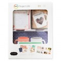 Set di 80 cartoline 15x10 et 7.5x10 cm e forme per l' Album Project Life DIY