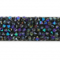 Crystal Fine Rocks Swarovski 709003 10 mm Crystal Paradise Shine x16cm