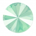 Cabochon Swarovski 1122 Rivoli mm. 14 Crystal Mint Green x1