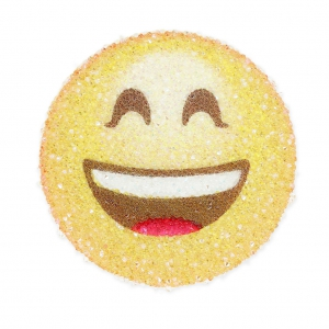 Crystal Fabric Swarovski 610863 termoadesivo 40mm Smiley Sorriso
