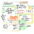 Set de 12 cartes15x10-7.5x10cm per l'Album Project Life DIY Inspiration
