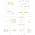 Set de 12 cartes15x10-7.5x10cm per l'Album Project Life DIY Mariage