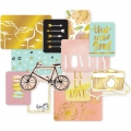Set de 12 cartes15x10-7.5x10cm per l'Album Project Life DIY Edition Douce