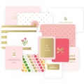 Set de 12 cartes15x10-7.5x10cm per l'Album Project Life DIY Petite Fille