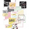 Set di 12 cartoline 10x10cm per l'Album Project Life Edition douce