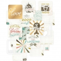 Set di 12 cartoline 10x10 cm per l'Album Project Life Aventure