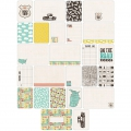 Set di 60 cartoline15x10-7.5x10cm per l'Album Project Life DIY Sur la route